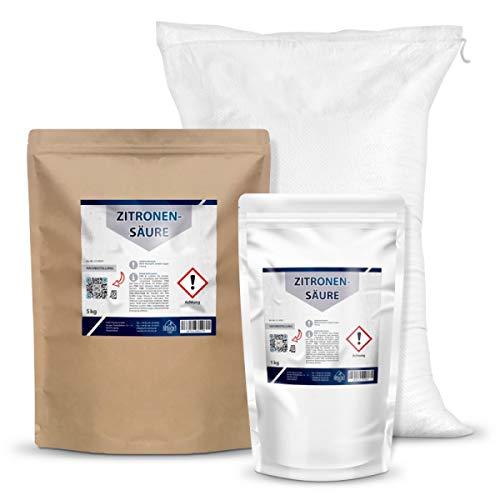 Zitronensäure als Pulver/Granulat | 1 kg (1, 5, 25 Kg)