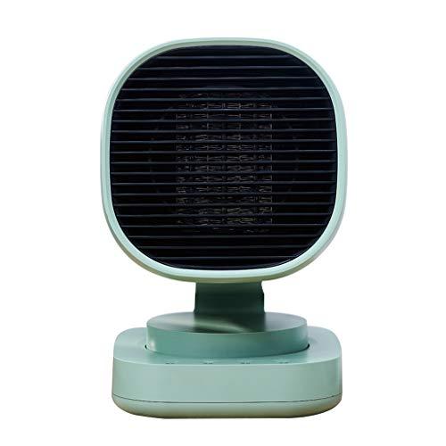 Chauffage Accueil Mini-chauffage Petit dortoir étudiant de bureau Bureau Dumping Power Off Off réchauffe tout ton hiver (Color : Green)