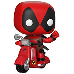 Funko Pop Deadpool en Scooter (Deadpool 45) Funko Pop Deadpool