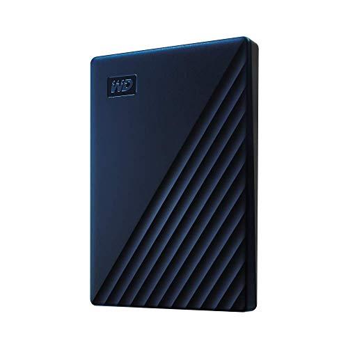 WD My Passport para Mac disco duro portátil 5TB, Listo para Time Machine y con seguridad mediante contraseña