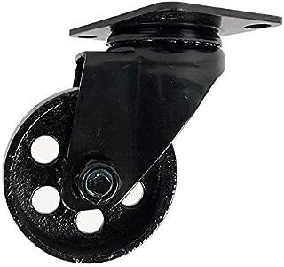 Heavy Duty Metal Caster Wheels - 3 7/8