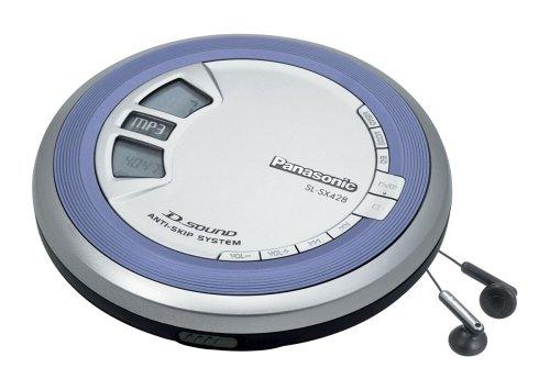 Panasonic SL-SX428EG-S CD-Player Silber