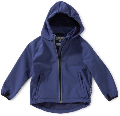 Playshoes Unisex - Kinder Jacke Playshoes 3-Lagen Softshell Jacke 430100, Gr. 98, blau (11 marine)