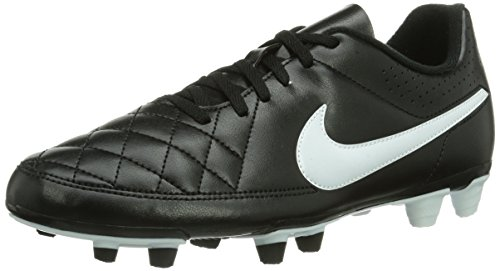 Nike Herren Tiempo Rio II FG Fußballschuhe, Mehrfarbig (Black/White), 41 EU