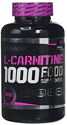 Biotech 101 g L Carnitine 1000 mg Tablets - Pack of 60
