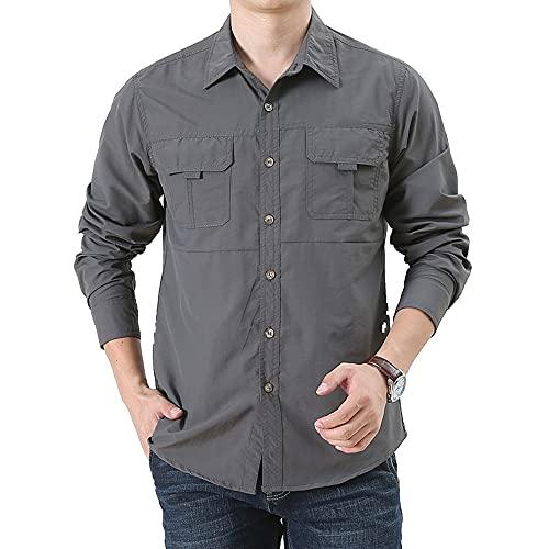 N\P Camisas de verano para hombre de secado rápido al aire libre cómodo
