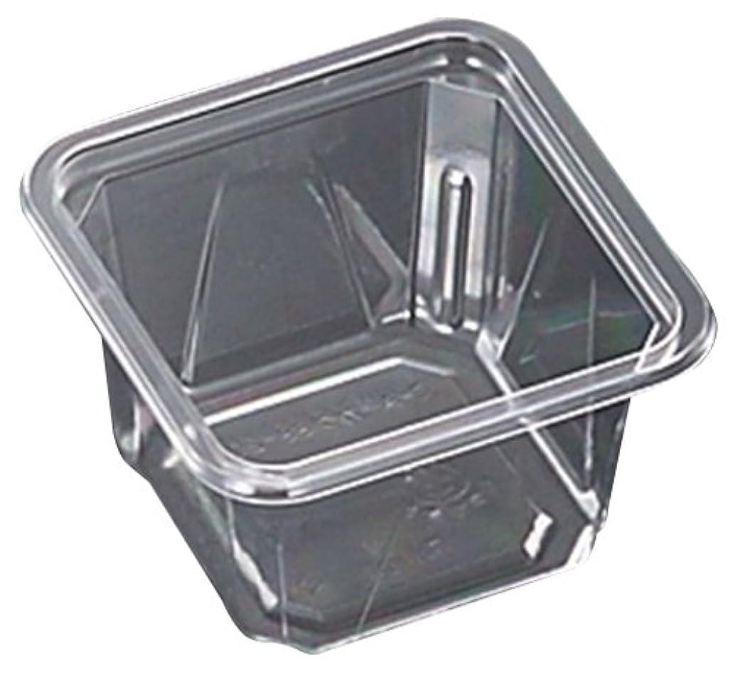 好ましい一族溶ける中央化学 使い捨て容器 C-AP角カップ 88-200 身 200ml 50枚入 容量:約200ml