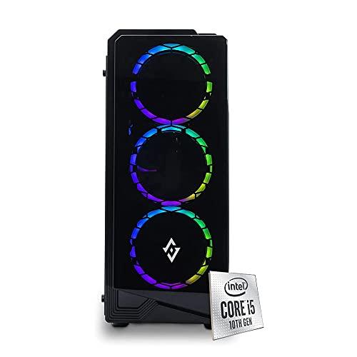 PJ RIG ERIS Pc gaming i5 4.30Ghz,Ram 16 Gb ddr4 3000 mhz, Rtx 2060 6GB,SSD 1000Gb M.2 Nvme, PSU 600 watt 80 plus, Windows 10 pro, Pc fisso gaming assemblato