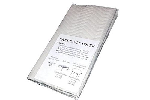 34' Square Card Table Cover