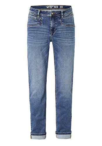 Paddocks Stretch Jeans Ben extra lang 80112 6227 5952 mid Blue Moustache, Weite/Länge:33W / 32L