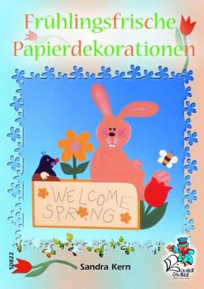 Frühlingsfrische Papierdekorationen