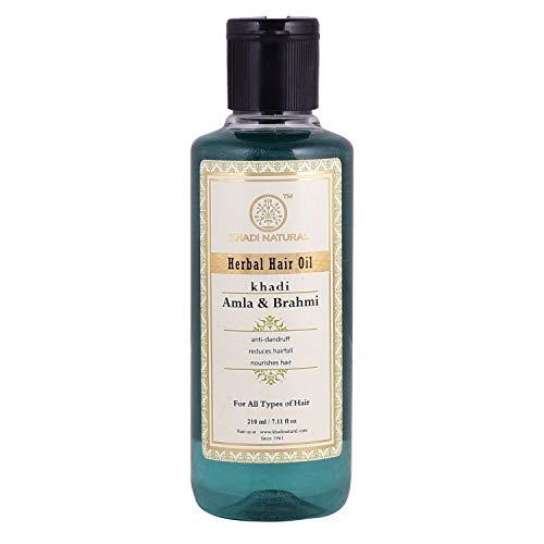 Khadi Amla and Brahmi Herbal Hair Oil - 210 ml