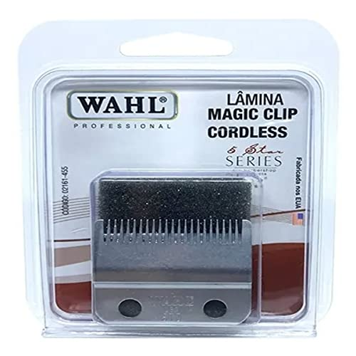 Lâmina de Corte Profissional 5 Star Magic Clip/Senior Cordless, Wahl, 02191-155, Prata