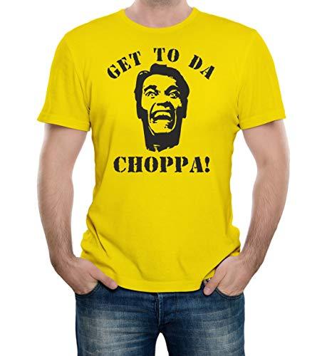 Get to Da Choppa T-Shirt for Men, 6 Colors, S to 3XL
