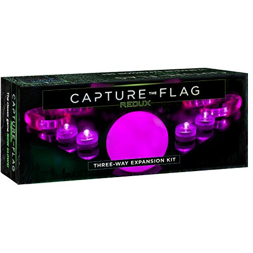 Starlux Games 3-Way Magenta Expansion KIT for Capture The Flag Redux - Add Another Team and a Fresh Pink Color to Your Glow-in-The-Dark Game