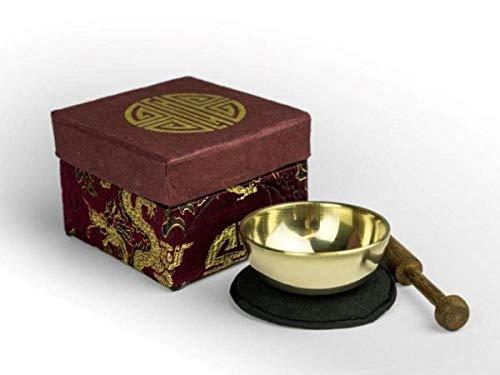 Mini-Klangschale - Set in Box mini violett/brokat longevity 5146
