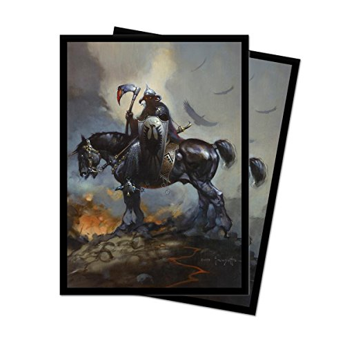 Frank Frazetta Art Series Death Dealer Deck Protector Sleeves (100 Count)