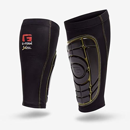 G-Form Pro-S Elite Shin Guards, Black/Yellow,...