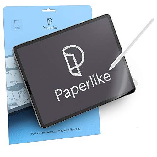 Paperlike (2 Stück) für iPad Air 10,9 Zoll (2020) und iPad Pro 11 Zoll (2018, 2020 & 2021) - matte Folie zum Zeichnen, Schreiben & Notizen machen