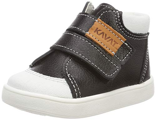 Kavat Unisex-Kinder Fiskeby Sneaker, Schwarz (Black 911), 20 EU