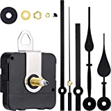 Queta Quarz-Uhrwerk,Quarz Uhrwerk Lange Spindel mit 2 Zeiger-Sets für DIY Wanduhr Reparatursatz...