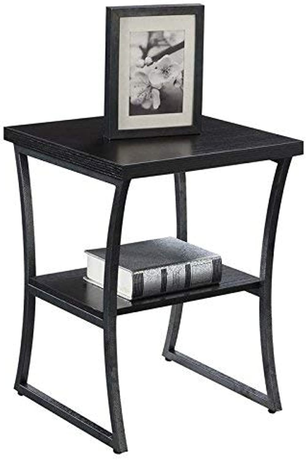 Convenience Concepts X-Calibur End Table, Espresso