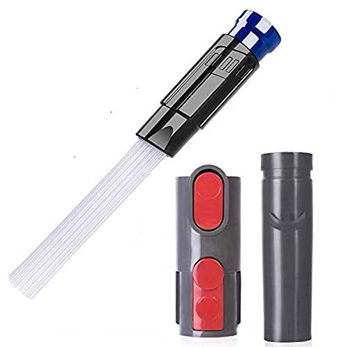 Winthai - Dyson Staubsauger Zubehör, Zubehör für Dyson, Staubrohr für Dyson Staubsauger Dusty Brush Drit Remover Tools mit Adaptern Kompatibel mit Dyson V6 V7 V8 V10 Staubsauger Zubehör