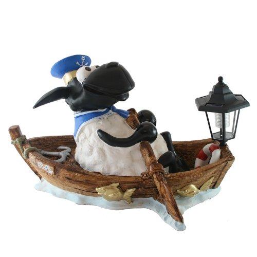 Piet le mouton en bateau décoratif avec lampe