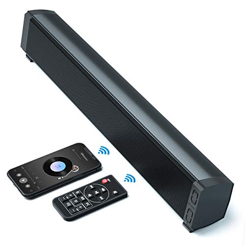 VANZEV Cassa PC Mini Soundbar Bluetooth Wireless con Tecnologia DSP 3 Modalità EQ, Supporta AUX/USB, Ideale per Desktop Laptop TV Ampia Compatibilità Altoparlante
