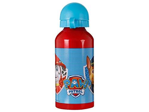 PAW PATROL 2561 Snackflasche; 400 ml Fassungsvermögen, Aluminiumprodukt;