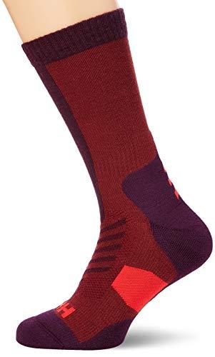 Helly Hansen Unisex Hiking Warm Crew Socken, Wild Rose, 42-44