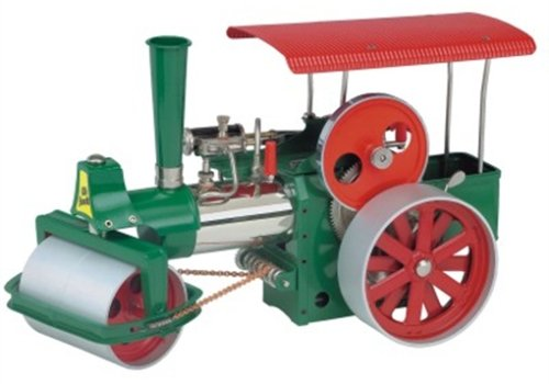 Wilesco D365 Steam Roller - Green