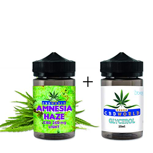 Original Aroma Konzentrat Amnesia Haze Kit zerlegt 10+10 tot 20 ml/250 mg italy made