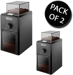 DeLonghi 2X KG79 Professional Burr Coffee Grinder Machine