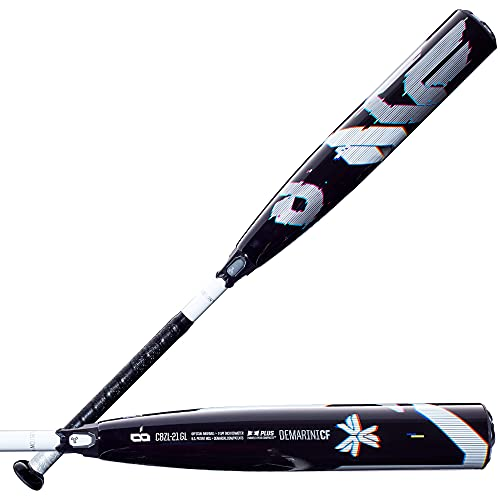 """DeMarini 2021 CF Glitch (-8) 2 3/4"""" USSSA Baseball Bat - 32""""/24 oz -  WTDXC8Z 2432-GL"""
