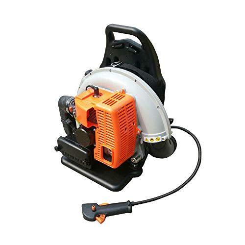 Aohuada 65CC Benzin Laubsauger Laubbläser Rückentragbar Benzin-Motor-Gebläse für Laub Beseitigung 2-Takt Rücken-Laubgebläse Leaf Blower leichter Start