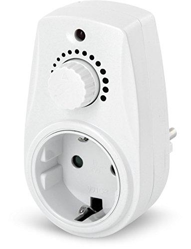 Zwischenstecker mit Drehdimmer 230V - für Halogen Glühbirne - ab 25W max. 280W