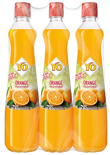 Eckes-Granini Deutschland GmbH -  Yo Sirup Orange, 6er