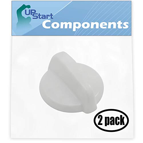 2 Pack Control Knob WB03T10282 Replacement for General Electric JBP68DIM3WW Range
