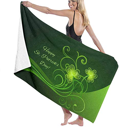 chillChur-DD Bath Towel Badetuch Wrap Happy Day Prints Damen Spa Dusche und...