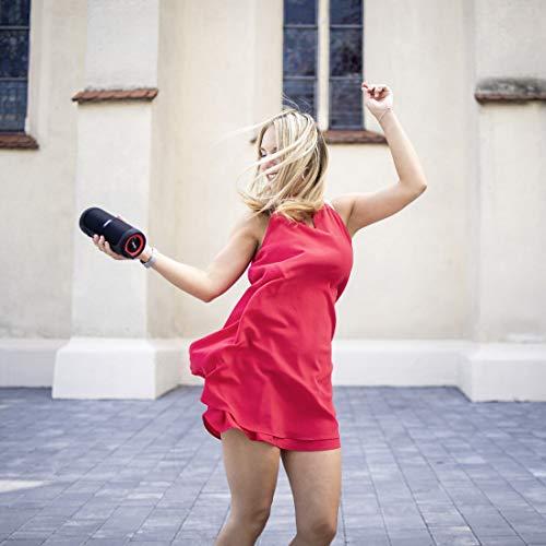 Hama 2-in-1 Bluetooth-Lautsprecher, teilbar (True Wireless Mono/Stereo Speaker mit 20W/2x10W, tragbar, Bluetooth 4.2, waterproof/wasserdicht nach IPX7) schwarz