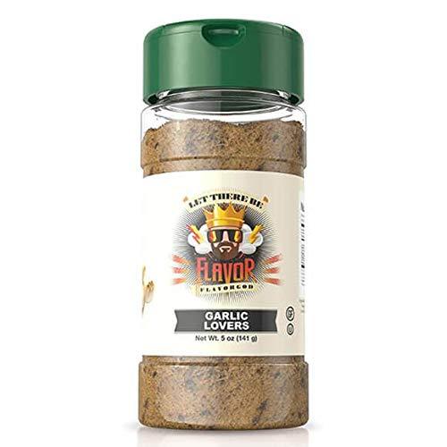 Garlic Lovers 5oz. Flavor God Seasonings - Low Sodium, No GMO, Healthy Seasoning