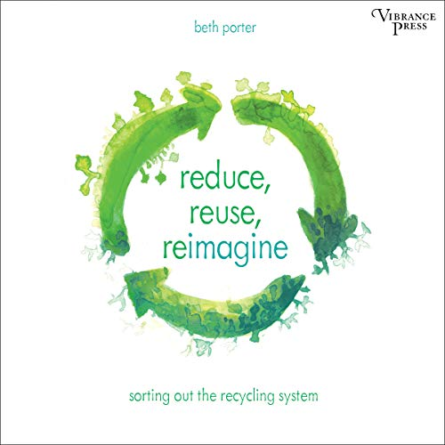 Reduce, Reuse, Reimagine audiobook cover art