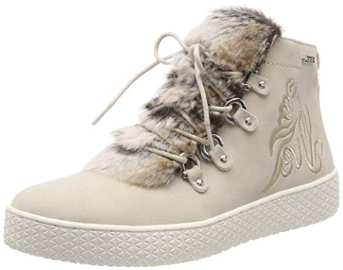 bugatti Damen 422525315959 Hohe Sneaker, Beige (Beige/Sand 5253), 38 EU