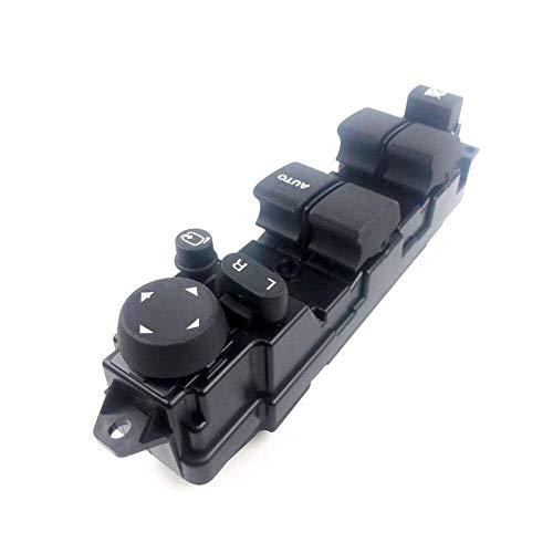 FSLLOVE FANGSHUILIN Interruptor de Ventanas de Vidrio de Potencia Ajuste para Mazda 2 y Ajuste para Mazda 6 08-12 D652-66-350A Accesorio de vehículo de Interruptor de Ventana de Arriba y Abajo