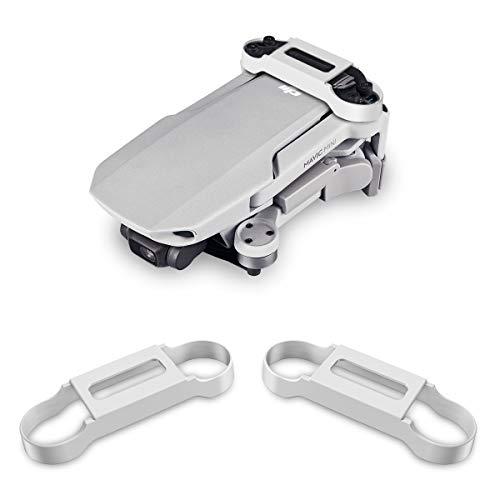 LegendTech Elica Protezione per DJI Mavic Mini Drone, Protezione Nastro di Fissaggio Supporto Elica in Silicone, Stabilizzatore Protezione di Trasporto per DJI Mavic Mini Propellers (Bianca)