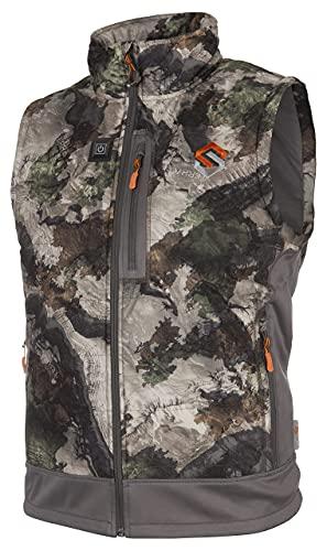 ScentLok BE:1 Reactor Plus Electric Heated Hunting Vest for Men (Mossy Oak Terra Gila, Large)