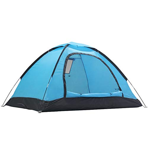 Anti-UV Tent Backpacking Zonnescherm Draagbare Zon Buitentent, 78,74 Inch * 59,05 Inch * 43,3 Inch Familietent Tent Voor 2-3 Personen (Color : Lake blue)