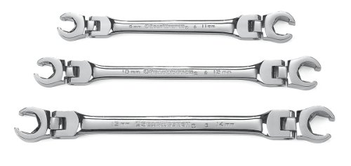 GEARWRENCH Flex Flare Nut Wrench Set