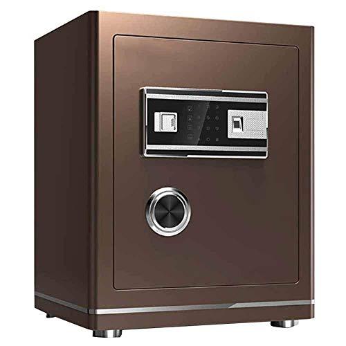 SGSG Caja Fuerte de Seguridad para gabinete con contraseña de Pantalla táctil Mediana, Caja Fuerte para el hogar, Alarma de Oficina, Caja Fuerte para Huellas Dactilares, Caja de Bloqueo